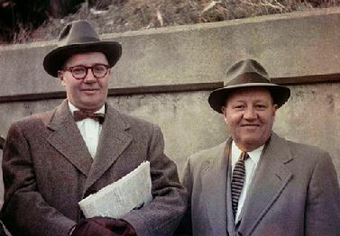 Jack and Frank Leonhardt, 1957